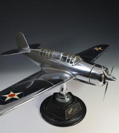 Airplane Helldiver Factory Model Curtiss Wright Desk Display 1940 - 1168745