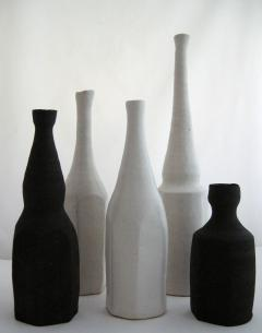 Akiko Hirai Akiko Hirai Set of Five Black and White Bottles - 305293