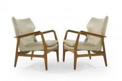 Aksel Bender Madsen Teak Lounge Chairs by Aksel Bender Madsen for Bovenkamp - 1141308