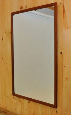 Aksel Kjaersgaard Danish Teak Mirror by Aksel Kjaersgaard - 352235