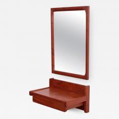 Aksel Kjersgaard Aksel Kjersgaard Set of Mirror and Drawer in Teak for Odder Denmark - 595496