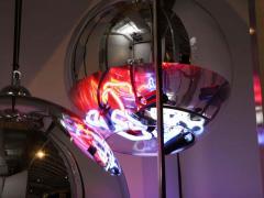 Al Jord o Contemporary Neon Balls Stand Lamp by Brazilian designer Al Jord o - 1271606