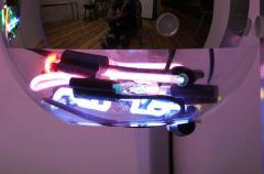 Al Jord o Contemporary Neon Balls Stand Lamp by Brazilian designer Al Jord o - 1271608