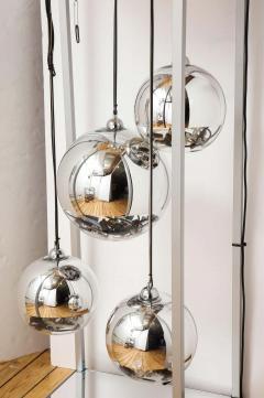 Al Jord o Contemporary Neon Balls Stand Lamp by Brazilian designer Al Jord o - 1271610