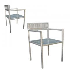 Al Jord o Contemporary Reta Chair from Cars Never Die Collection by Al Jord o Brazil - 1212674