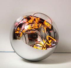 Al Jord o Round Floor Lamp with Neon Lights by Brazilian Designer - 1271550
