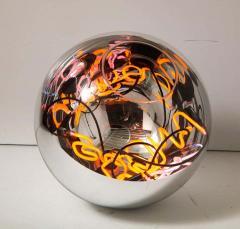 Al Jord o Round Floor Lamp with Neon Lights by Brazilian Designer - 1271552