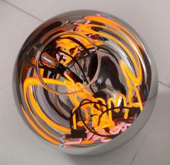 Al Jord o Round Floor Lamp with Neon Lights by Brazilian Designer - 1271559