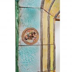 Alain Girel Magnificent Ceramic Mirror by Alain Girel for Hermes - 302308