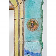 Alain Girel Magnificent Ceramic Mirror by Alain Girel for Hermes - 302315