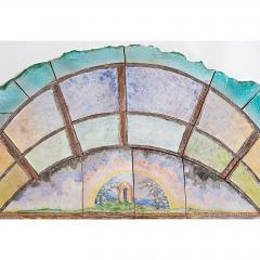 Alain Girel Magnificent Ceramic Mirror by Alain Girel for Hermes - 302316