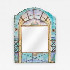 Alain Girel Magnificent Ceramic Mirror by Alain Girel for Hermes - 304582