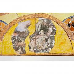 Alain Girel Magnificent Yellow Ceramic Mirror by Alain Girel for Hermes 1994 - 299981