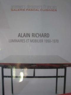 Alain Richard French Mid Century Minimalist A16 Chandelier by Alain Richard for Disderot - 1770797