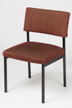 Alain Richard Set of eight chairs by Alain Richard France around 1960 - 1467251