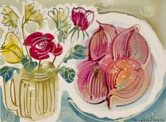Alan Halliday Alan Halliday A collection of Watercolours of Fruits and Flowers  - 2111614