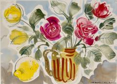 Alan Halliday Alan Halliday A collection of Watercolours of Fruits and Flowers  - 2111616