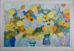 Alan Halliday Summer Flowers  - 1486066