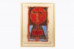 Albert Chubac Albert Chubac Painting Mixed Media circa 1965 France - 1019896