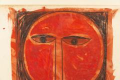 Albert Chubac Albert Chubac Painting Mixed Media circa 1965 France - 1019899