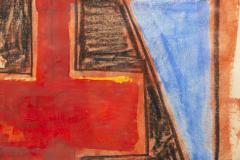 Albert Chubac Albert Chubac Painting Mixed Media circa 1965 France - 1019902