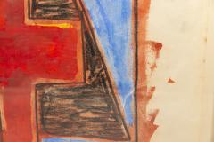 Albert Chubac Albert Chubac Painting Mixed Media circa 1965 France - 1019903
