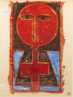 Albert Chubac Albert Chubac Painting Mixed Media circa 1965 France - 1022299