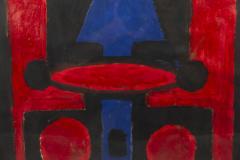 Albert Chubac Albert Chubac Painting Mixed Media circa 1965 France - 1035294