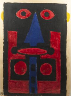 Albert Chubac Albert Chubac Painting Mixed Media circa 1965 France - 1035501