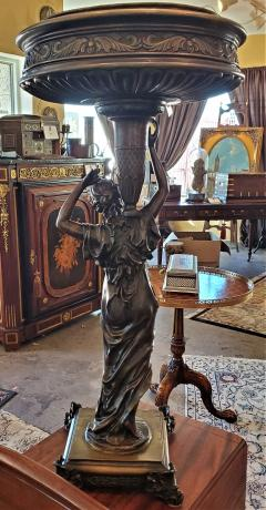 Albert Ernest Carrier Belleuse 19C French Bronze Centerpiece by A Carrier - 1729712