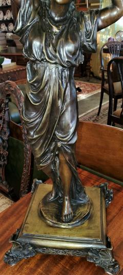 Albert Ernest Carrier Belleuse 19C French Bronze Centerpiece by A Carrier - 1729714