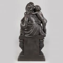 Albert Ernest Carrier Belleuse A Fine Quality Patinated Bronze Sculpture Depicting Mother and Child - 1468582