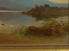 Albert Fitch Bellows Homeward Bound 1863 American Landscape Painting by Albert Fitch Bellows - 1094263