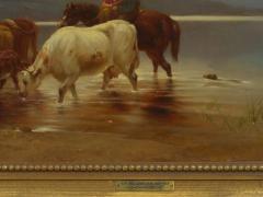 Albert Fitch Bellows Homeward Bound 1863 American Landscape Painting by Albert Fitch Bellows - 1094264