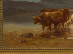 Albert Fitch Bellows Homeward Bound 1863 American Landscape Painting by Albert Fitch Bellows - 1094265