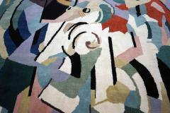 Albert Gleizes Limited Edition Artistic Handmade Wool Rug after Albert Gleizes N 39 - 1022899