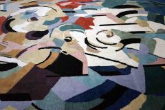 Albert Gleizes Limited Edition Artistic Handmade Wool Rug after Albert Gleizes N 39 - 1022900