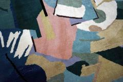 Albert Gleizes Limited Edition Artistic Handmade Wool Rug after Albert Gleizes N 39 - 1022901
