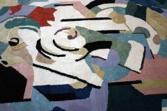 Albert Gleizes Limited Edition Artistic Handmade Wool Rug after Albert Gleizes N 39 - 1022902