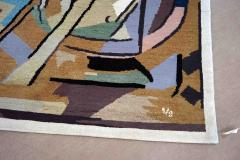 Albert Gleizes Limited Edition Artistic Handmade Wool Rug after Albert Gleizes N 39 - 1022903