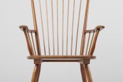 Albert Haberer Armchair in Solid Wood by Albert Haberer for Hermann Fleiner Germany 1950s - 1386311