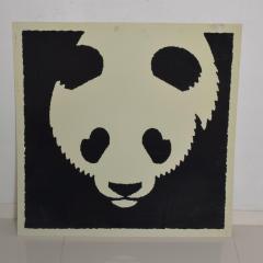 Albert Hirschfeld Modern Chinese PANDA BEAR ART Poster Lithograph - 1292601