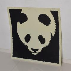 Albert Hirschfeld Modern Chinese PANDA BEAR ART Poster Lithograph - 1292603