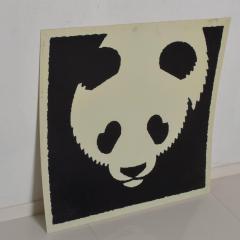 Albert Hirschfeld Modern Chinese PANDA BEAR ART Poster Lithograph - 1292604
