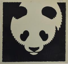 Albert Hirschfeld Modern Chinese PANDA BEAR ART Poster Lithograph - 1292811