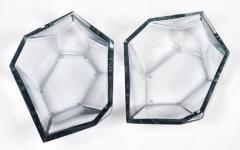 Alberto Dona Geometric Murano Glass Bowls by Alberto Dona - 639492