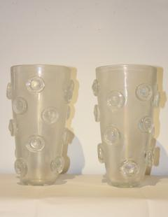 Alberto Dona Modernist Italian Murano Vases By Alberto Dona - 823250