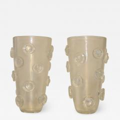 Alberto Dona Modernist Italian Murano Vases By Alberto Dona - 824171