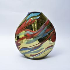 Alberto Dona Murano Multicolor mirrored Vase - 988005