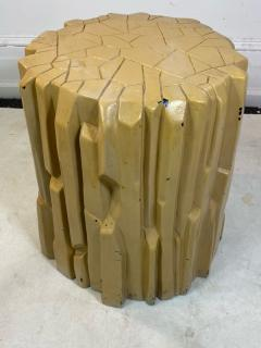 Alberto Giacometti MODERNIST ABSTRACT FACETED PLASTER TABLE IN THE MANNER OF GIACOMETTI - 1909895